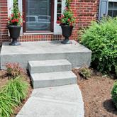 Walkway, steps & porch